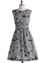 Too Much Fun Dress in Graphic Garden