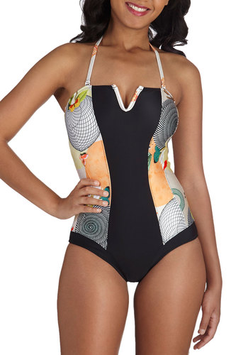 The Art of the Ocean One Piece Swimsuit