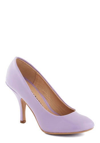 The Right Strut Heel - Purple, Solid, Special Occasion, Wedding, Work, Daytime Party, Graduation, Bridesmaid, High, Better, Party, Pastel, Minimal, Faux Leather