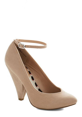 Unleash the Chic Heel in Chai