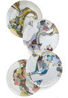 Eclectic Taste Plate Set by Poketo - Multi, Print, Better