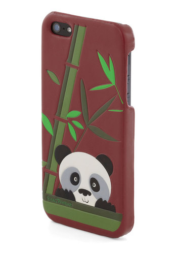 Calling All Cuties iPhone 5/5S Case - Red, Multi, Print with Animals, Travel, International Designer, Green, Kawaii