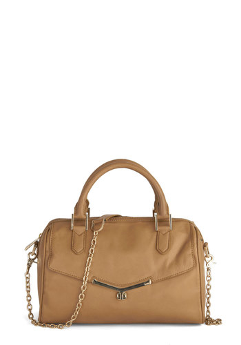 Botkier Frequent Flier Bag - Tan, Solid, Chain, Work, Luxe, Leather