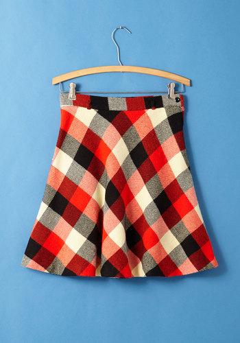 Vintage Like a Provost Skirt