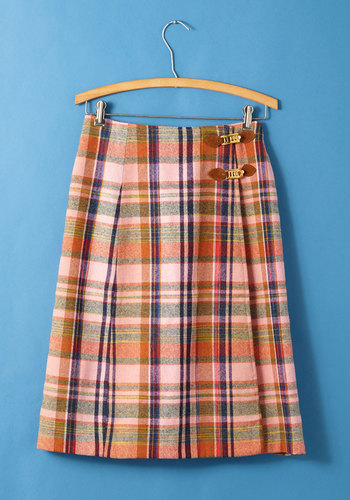 Vintage Lively & Learned Skirt