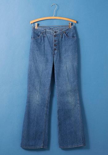 Vintage Prom Planning Jeans