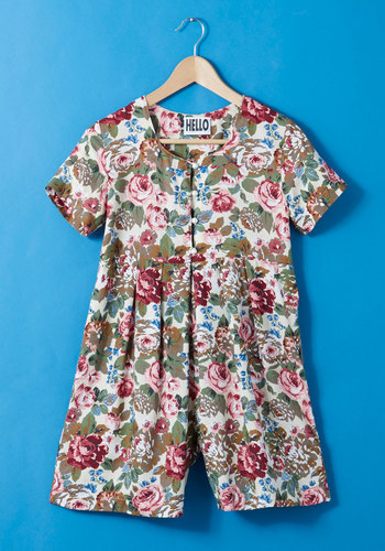 Vintage School's Haute for Summer Romper
