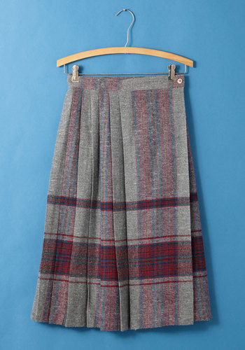 Vintage Literature of Fashion Skirt