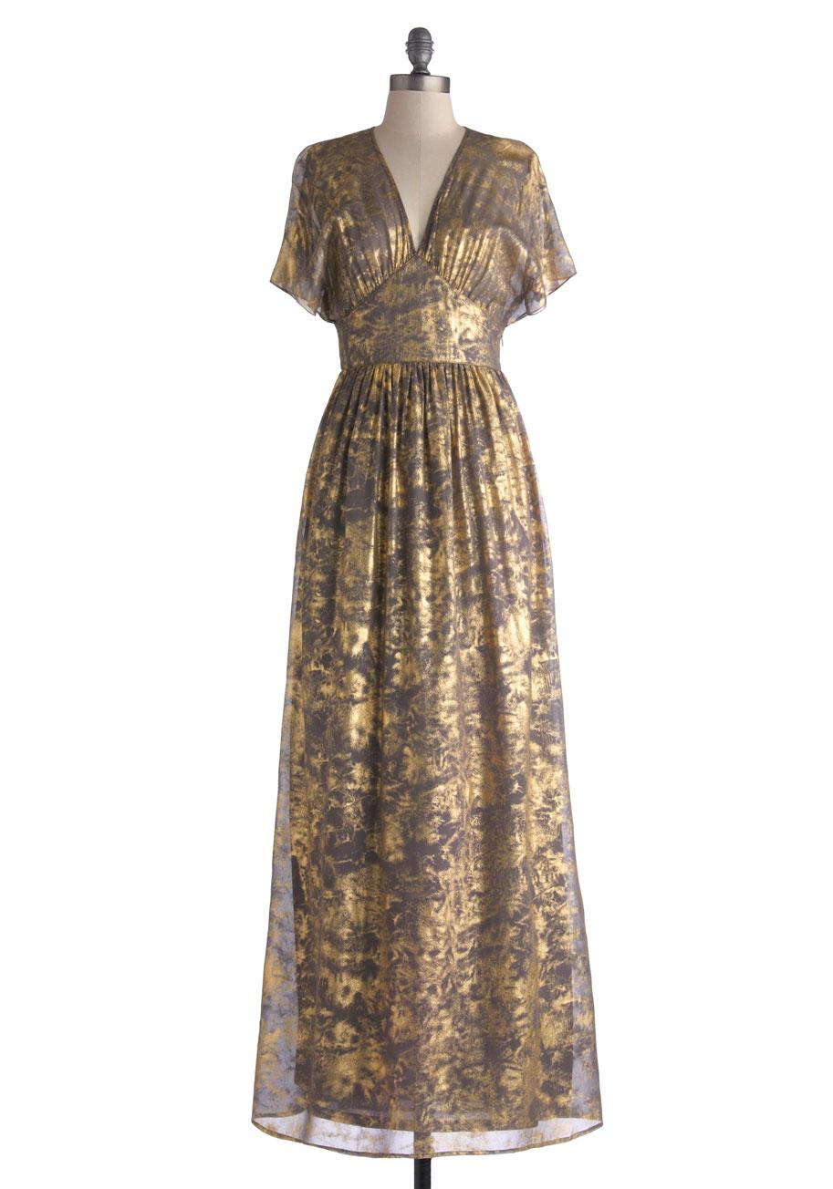 Silver Vintage Dress