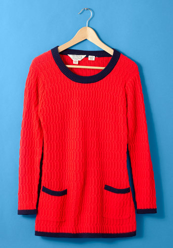 Vintage Well Red Student Top