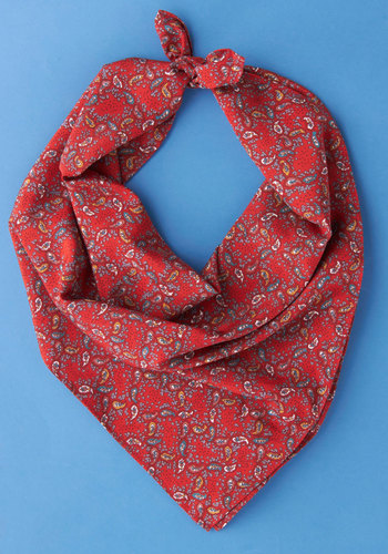 Vintage Survey of Sophistication Scarf