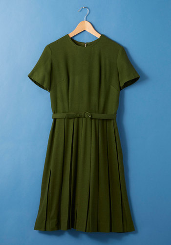 Vintage Valedictorian de Force Dress