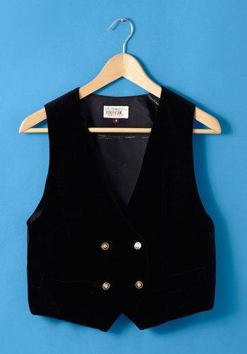 Vintage Pop Quiz Whiz Vest