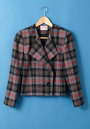 Vintage Pendleton Campus Tour Guide Blazer
