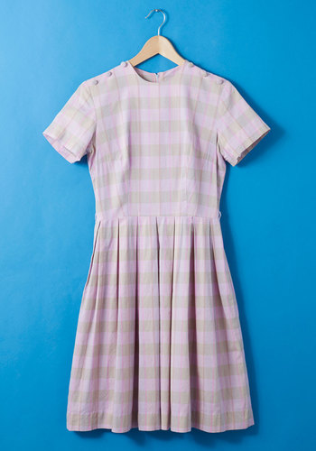 Vintage Home Sweet Home Ec. Dress