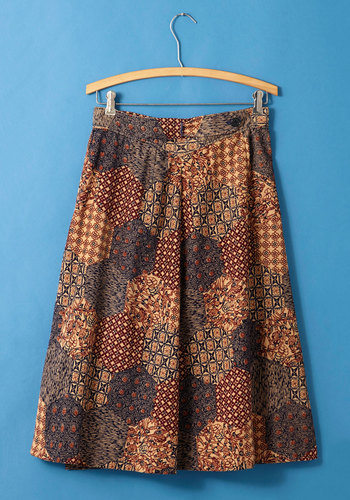 Vintage Rare Book Research Skirt
