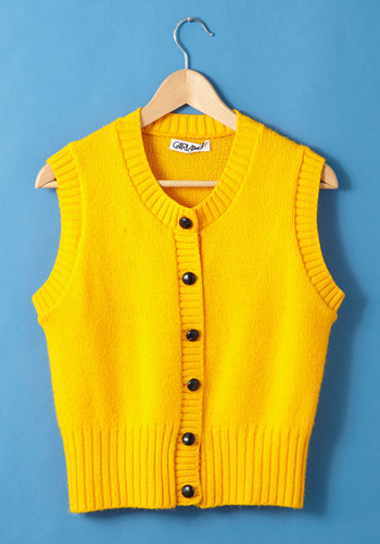Vintage Voted Vest Dressed