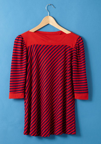 Vintage Learn Your Stripes Top