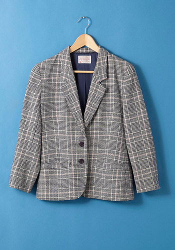 Vintage Pendleton Student Council Chic Blazer