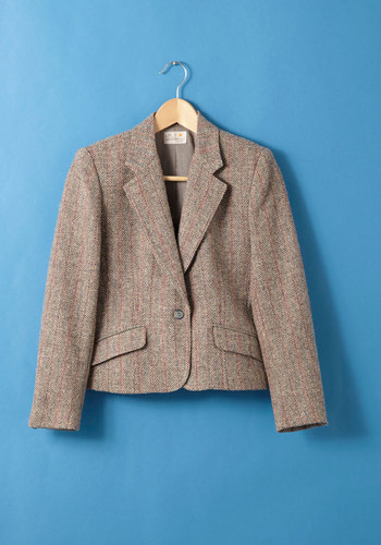 Vintage Course Reading List Blazer