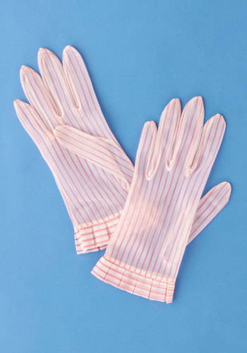 Vintage Study Holiday Gloves