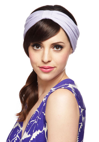 Pastel in the Park Headband - Purple, Solid, Pastel