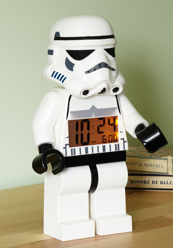 Take It by Storm Alarm Clock - White, Black, Quirky, Better, Top Rated, Sci-fi, Guys, WPI, 4th of July Sale