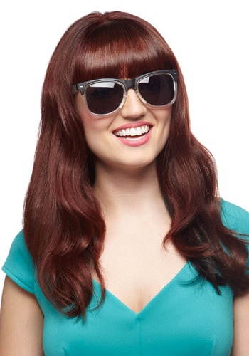 Glee Clearly Now Sunglasses - White, Black, Solid, Beach/Resort, Summer