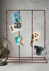 Instant Installation Photo Stand - Red, Rustic, Solid, Dorm Decor, Better