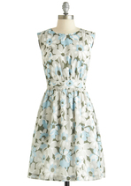 Too Much Fun Dress in Dew Blossoms