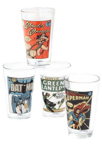 Hero Till the End of the Pint Glasses - Multi, Novelty Print, Better, Press Placement, Top Rated, Guys