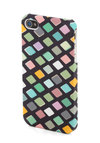 Party Planner's Delight iPhone 4/4S Case - Multi, Print, Travel, Black