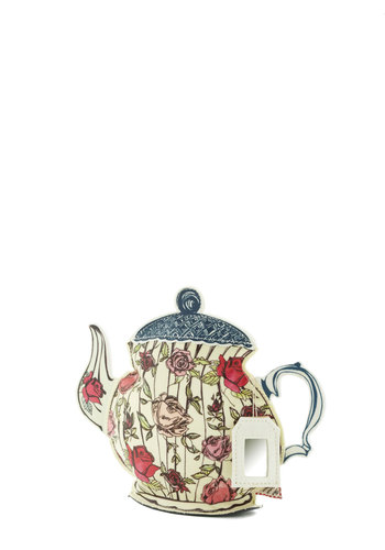 Sublime a Little Teapot Makeup Bag by Disaster Designs - Multi, Multi, French / Victorian, Floral, Good