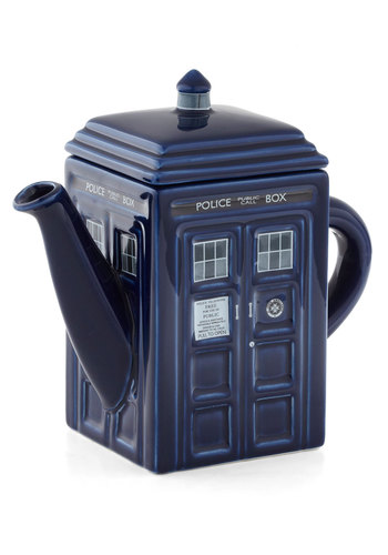 Time Machine for Teapot - Blue, Better, Sci-fi, Guys