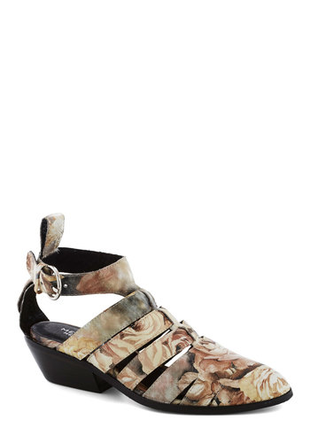 Flower District Bootie - Multi, Floral, Best, Strappy, Leather, Mid, Cutout, Casual, 90s, Fall