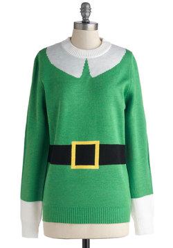 Elf Respect Sweater