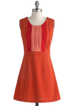 Pumpkin About You Dress