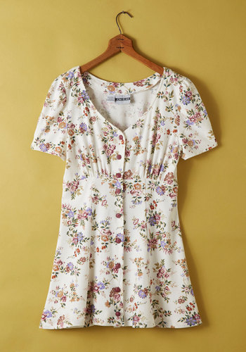 Vintage Meadow Marvel Dress