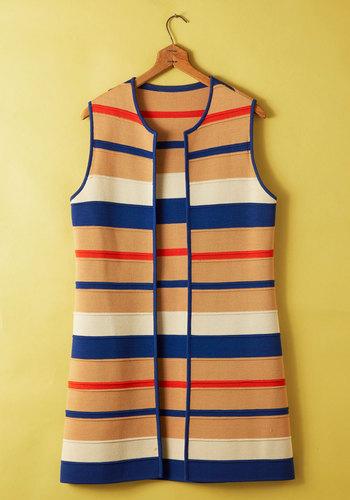 Vintage Sedimentary Rock Star Vest