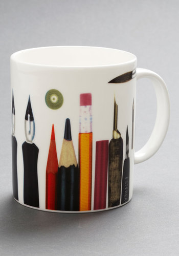 Preeminent Implements Mug - Multi, Multi, Novelty Print, Good