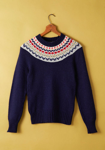 Vintage Snuggle in Seattle Sweater