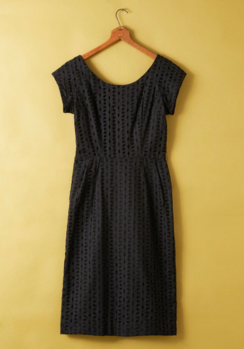 Vintage Stony Shoreline Dress
