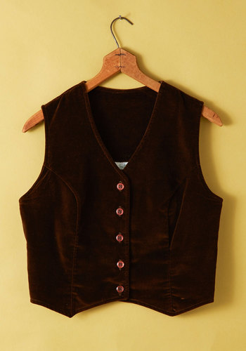 Vintage Sleeveless in Seattle Vest