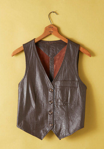 Vintage Going, Going, Oregon Vest