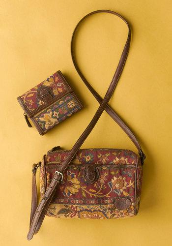 Vintage Camano Already Bag & Wallet Set