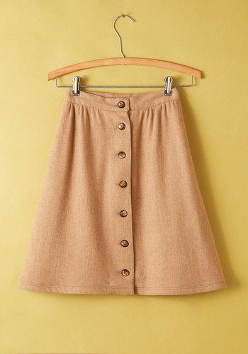 Vintage Universi-tea Time Skirt