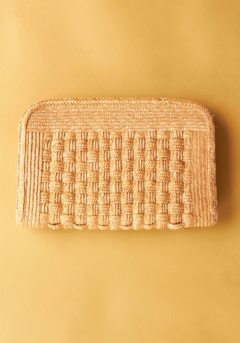 Vintage Scavenger Hunt Soiree Clutch