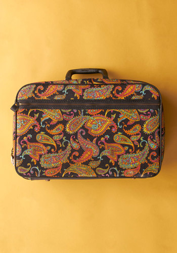 Vintage Keep Port Towns Weird Suitcase