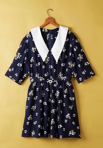 Vintage Portrait of Call Dress