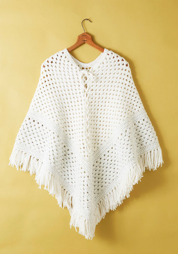 Vintage Pearl District Poncho